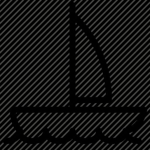 boat, cruise, sailing, transport, transportation, vehicle icon
