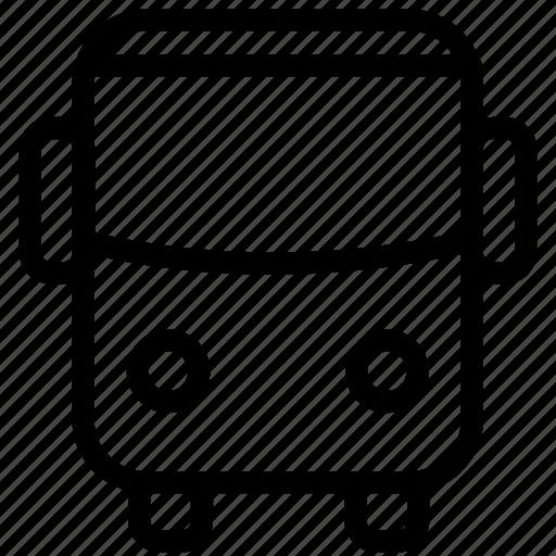 bus, public, school, transport, transportation, vehicle icon