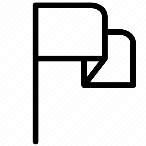 circle, flag, location, marker, world icon