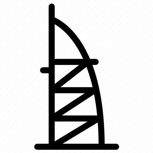 architecture, building, city, design, office, tower icon