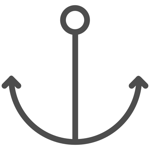 anchor, boat, cruise, sea, ship, water, yacht icon