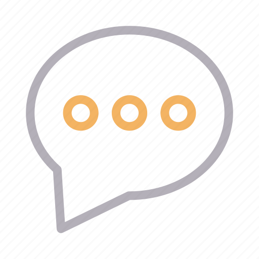 bubble, chat, dialog, message, speech icon