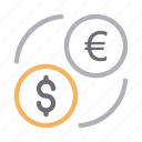 currency, dollar, euro, exchange, transfer