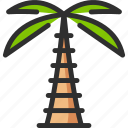 eco, green, nature, palm, tree