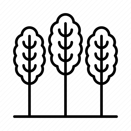environment, nature, outdoors, park, sustainable, tree, trees icon