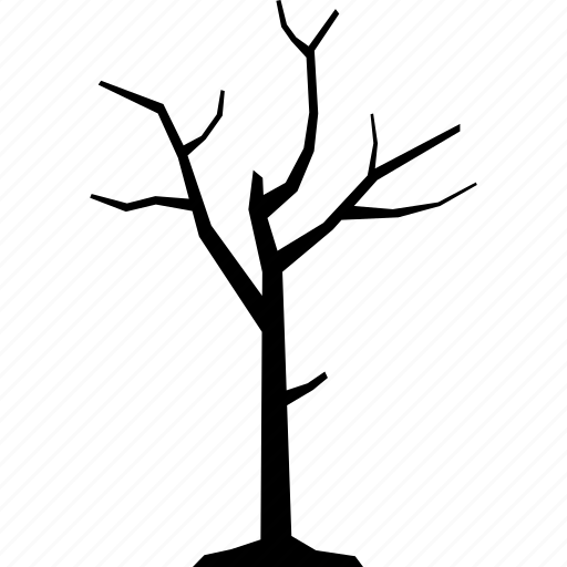 Branch, dead, dried, dry, tree icon - Download on Iconfinder