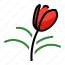 flower, plant, tree, tulip icon