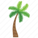 date palm, generic tree, nature, palm tree, tropical tree icon
