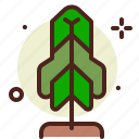forest, garden, nature, plants, tree icon