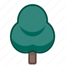arbor, ecology, final, leaf, life, plant, tree icon