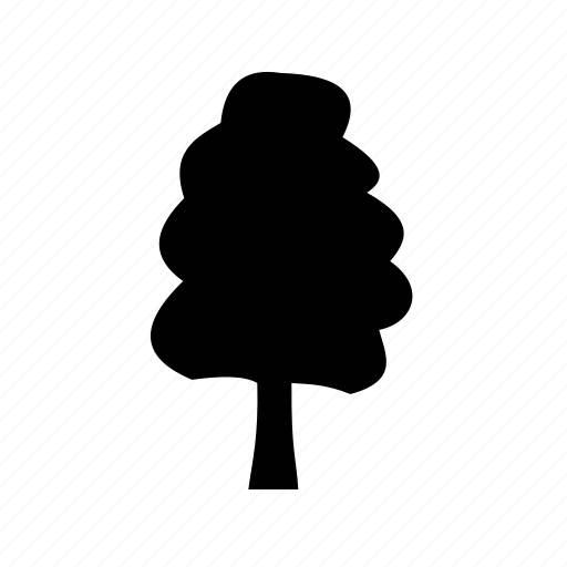 cedar, elm tree, oak, park, picnic icon