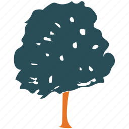 generic tree, nature, oak, tree icon