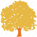 generic tree, oak, shrub tree, tree icon