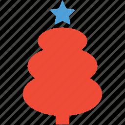 christmas tree, generic tree, tree, xmas generic tree icon