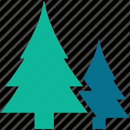 christmas, generic trees, pine trees, shrub trees, tree icon