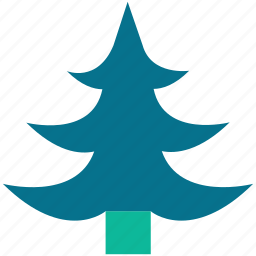 christmas tree, generic tree, larch, tree icon