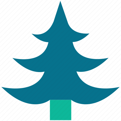 christmas tree, generic tree, larch, tree icon