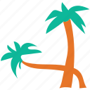 generic tree, nature, palm, tree icon