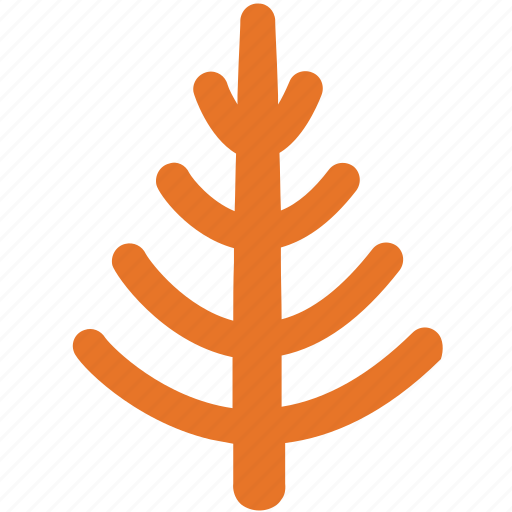 generic tree, larch, nature, tree icon