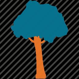 generic tree, nature, tree, umbrella pine icon