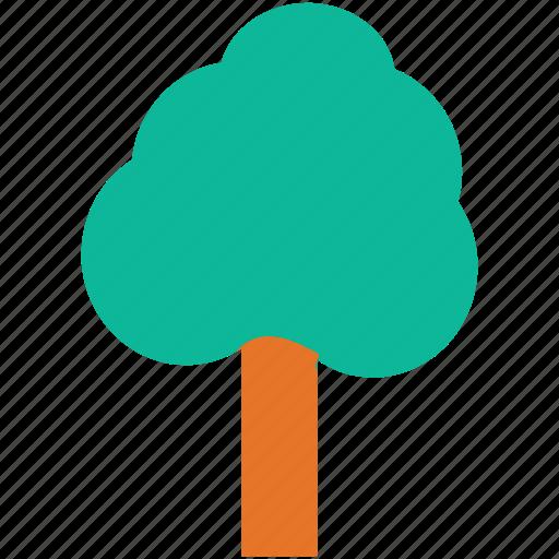 generic tree, shrub tree, sycamore, tree icon