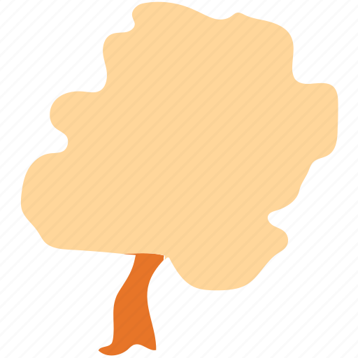 generic tree, nature, oak, tree icon