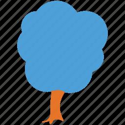 generic tree, horse chestnut, nature, tree icon