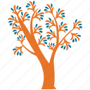 generic tree, irregular, spring tree, tree icon