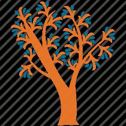 generic tree, irregular, spring tree, tree icon