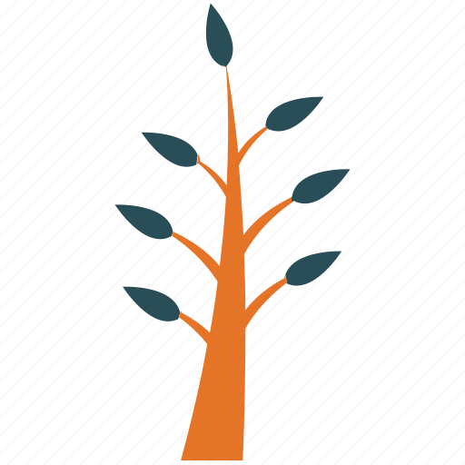 generic, leafy, small plant, spring plant icon
