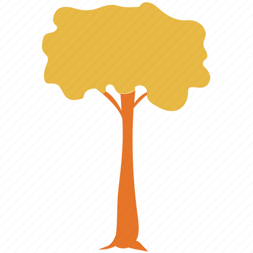 mop top form, tree, umbrella pine, upright standard icon