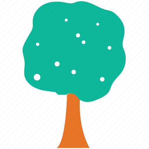 generic tree, shrub tree, tree icon