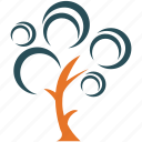 generic, nature, tree, tree of spirals icon