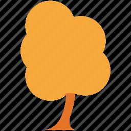 generic tree, nature, walnut, walnut tree icon