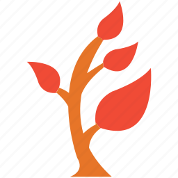 generic, leafy, plant, small plant icon