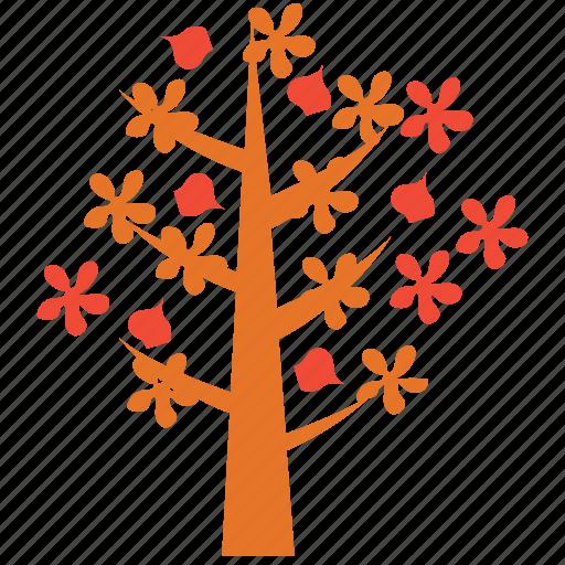 dogwood, nature, spring tree, tree icon