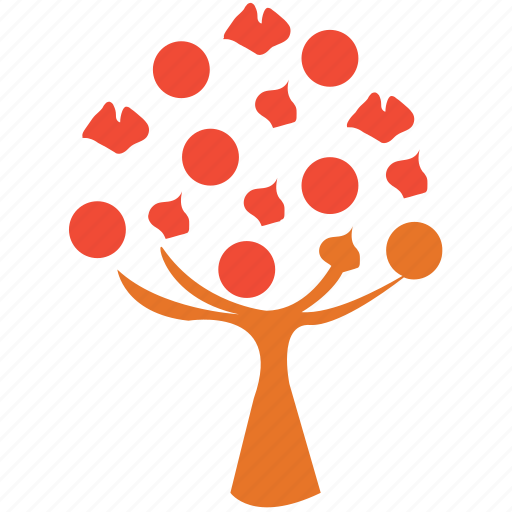 generic, nature, spring tree, tree icon