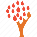 leafs, leafy tree, nature, tree icon
