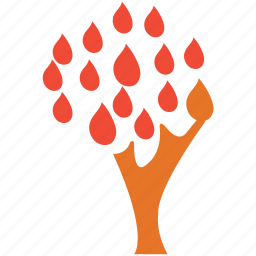 leafs, leafy tree, nature, tree icon