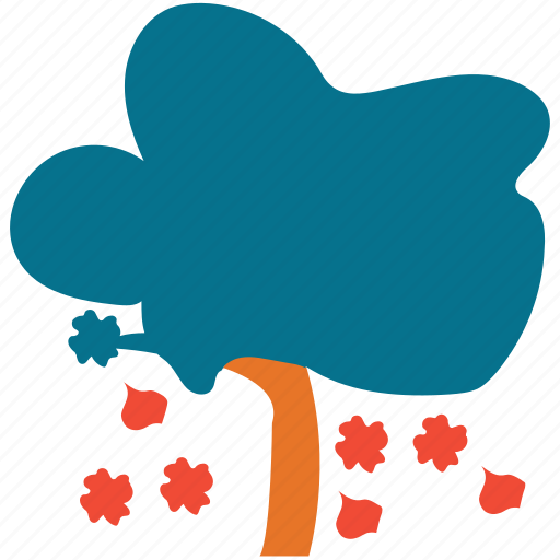 autumn tree, fall in, generic, shrub, tree icon