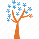dogwood, generic, spring tree, tree icon
