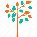 branch, generic, leafy, tree