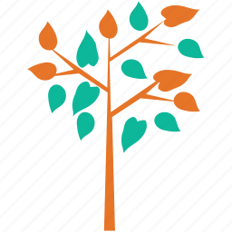 branch, generic, leafy, tree icon