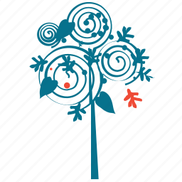 generic, plant, small plant, spiral leafs icon