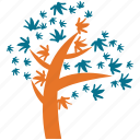 generic, irregular form, spring tree, tree icon