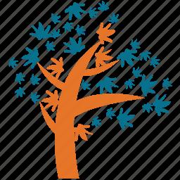 generic, irregular form, spring tree, tree icon