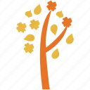 ecology, flowers, nature, tree icon