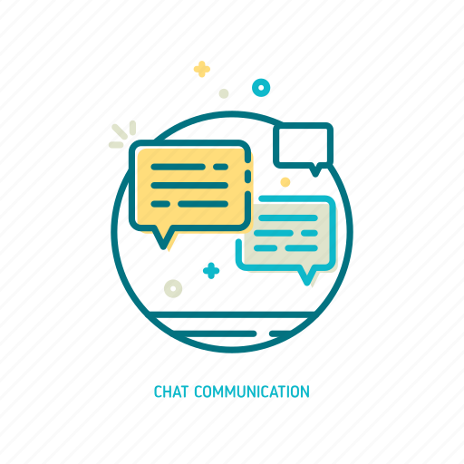 chat, comment, communication, dialog, promotion, talk, trendy icon