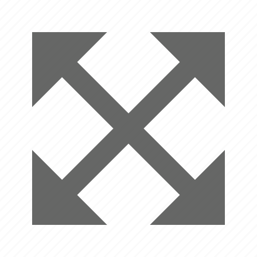 arrow, expand, fullscreen, maximize, move, resize, size icon