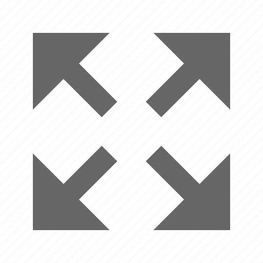 arrow, corners, direction, expand, fullscreen, move, resize icon